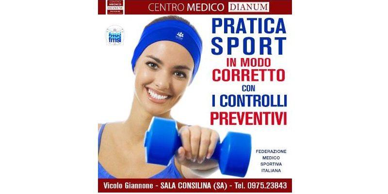VISITA MEDICO SPORTIVA PER CERTIFICATO DI IDONEITA' ALLO SPORT